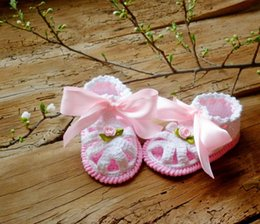 Baby Girl Cute Sandals Australia - White Crocheted Baby Sandals, Organic Cotton Cute newborn Sandals,Baby girls shoes Newborn Girl Gift,MADE TO ORDER 9cm,10cm,11cm