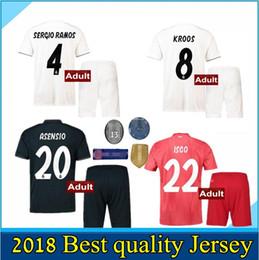 21cb676e9 real madrid kits 2019 - men kit jersey 2019 Real Madrid RONALDO home Away  soccer jersey