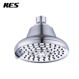 Chinese  KES 5 Function Luxury Shower Head High Pressure Adjustable 5-Inch Showerhead Modern Bath Spa Fixture Wall Mount, Chrome, J352 manufacturers
