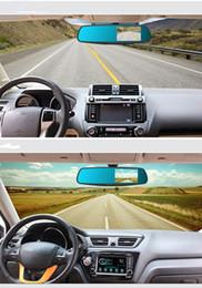 """Venta al por mayor de M08 cámara del coche 3.5"""" Grabadoras DVR coche retrovisor del vehículo espejo dashcam registrador de la conducción única len Micrófono incorporado Altavoz"""