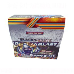Toys board games online shopping - Cartoon Black White English Cards Anime Trading Card Game set Party Board Games Toys for Kids Adult