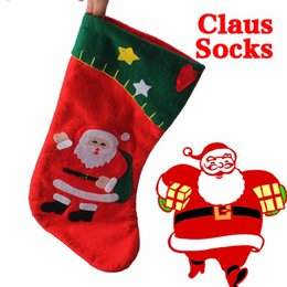 $enCountryForm.capitalKeyWord NZ - 1PC Christmas Stockings navidad santa claus Stocking Candy Bags for Christmas Decoration New Year Product Children Gifts free shipping hot