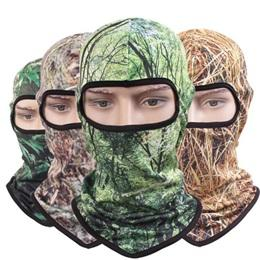 $enCountryForm.capitalKeyWord NZ - Quick Dry Mesh Forest Camouflage Balaclavas Men Jungle Camo CS Full Face Net Masks Women Wood Print One Hole Balaclava Beanies Wholesale