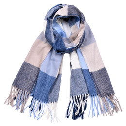Winter Scarves Shawl NZ - 2018 Fashion Designer Cashmere Scarf Female Luxury Plaid Winter Scarves Women British Style Shawl Neckerchief 70cm*190cm