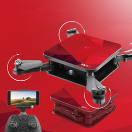 Helicopter Toys Camera NZ - SMRC S1 Mini RC Drone with HD Wifi Camera Pocket Selfie 2.0MP WiFi FPV Real Time Folding Helicopter RC Quadcopter for Chrismas Toy Boy Gift