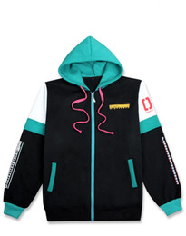 halloween holiday hatsune miku hoodie cosplay costume