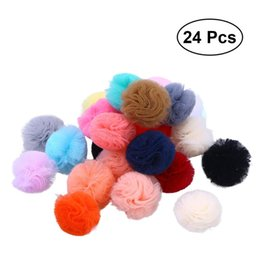 Dog Grooming Hair Clip Australia - 24Pcs Lovely Cats Dogs Puppy Bow Topknot Bowknot Hair Clips Hair Bows Grooming Accessories for Dogs Cats Puppy
