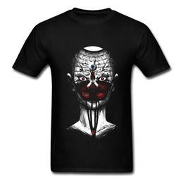 China Promotional T Shirt For Adult Mens Dress T Shirts Dead Soul 100% Cotton Small Size S-XXL Funny Design 3D Black Alien Skull Tops suppliers