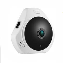 360 градусов камеры P2P Ip безопасности беспроводной панорамный fisheyes IP-камера аудио / обнаружения движения смарт-телефон просмотр веб-камеры на Распродаже