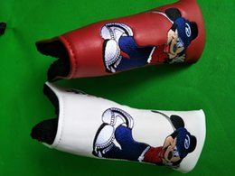 online shopping Beauty Rat Mermaid golf putter headcover set red green unisex PU leather golf head covers golf club putter protection
