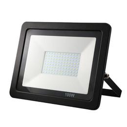 Ultrathin Floodlight UK - 20pcs lot ultrathin LED flood light 10w 20w 30w 50w waterproof smd floodlight 220w outdoor led lights for garden wall