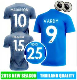2019 VARDY Leicest City SOCCER JERSEY 18 19 Maddison Iheanacho Morgan  MAGUIRE CHIL WELL OKAZAKI NDIDI FOOTBALL SHIRTS a5856b8a7