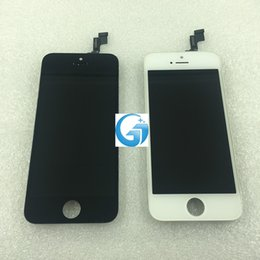 Wholesale iphone 5s original display resale online - original used LCD Assembly For iPhone S LCD Display with Touch Screen Digitizer for iPhone LCD Screen replacement
