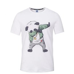 $enCountryForm.capitalKeyWord Canada - Men's New 3d Panda Printing Trend Street Hip Hop Shirt Men's T-Shirt