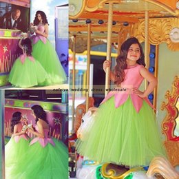 $enCountryForm.capitalKeyWord NZ - Cheap 2018 Said Mhamad Crew Colorful Pageant Dresses for Teens Flower Girls Dress Ball Gowns Vintage Gown for TuTu Wedding