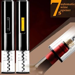 Red Cutter NZ - Bottle Opener Tool Electric Automatic Cordless Red Wine Corkscrew Foil Cutter Y18110204
