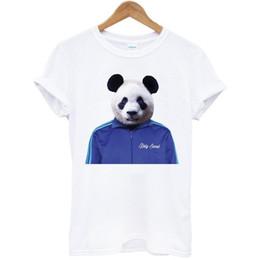 White Panda T Shirt Australia - Panda Jacket animal funny humor art pop party gift white t-shirt Cool xxxtentacion tshirt