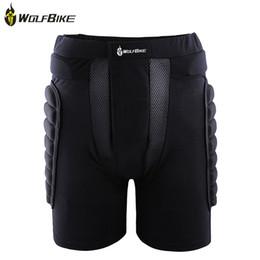 Venta al por mayor de WOLFBIKE BC305 Protective Hip Butt Pad Pant para Deporte al aire libre Patinaje sobre esquí Snowboard suave y transpirable