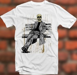 Tops & Tees Back To Search Resultsmen's Clothing Men Funny T Shirt Women Cool Tshirt Retro Melting Skull Gas Mask Goth Rock Hardcore Tshirt
