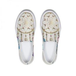 b18e2e43e6 Lindo sonho on-line-Adorável Sonho Design Mulheres Sapatos Baixos  Deslizamento Em Sapatos Preguiçosos