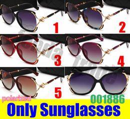 sunglasses flower design 2019 - 5 colors Popular Shield black Sunglasses Luxury Women Brand Design Pearl flower Fashion polarized High Quality UV400 Len