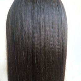 lace front wig human hair 28 Australia - 8-24inch in stock! Material and style silky straight wave human hair full wigs front lace wig human hair for black women