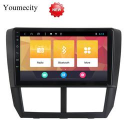 $enCountryForm.capitalKeyWord Canada - Android 8.1 Car DVD for Subaru Forester 2008 2009 2011 2012 GPS radio video Multimedia player Capacitive IPS Screen 32G ROM