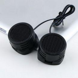 Mini pc 12v online shopping - 2 Universal car speaker High Efficiency Mini Dome Tweeter Loudspeaker x W Super Power Audio Sound Klaxon Tone For Car