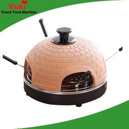 Discount pizza machines - Home pizza oven Italian pizza maker machine 4 people pizza vending machines for sale electric barbecue oven