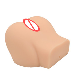 $enCountryForm.capitalKeyWord NZ - Big Ass Male Masturbator, 3D Solid Silicone Real Sex Doll with Realistic Vagina Anal Sex Toys For Men