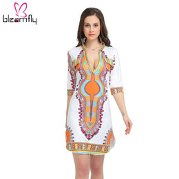 8f7a46dca77 Plus Size Hippie Boho Clothing Australia - 3XL Plus Size Wholesale African Clothes  Dashiki Dress for