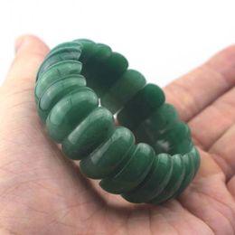 Green aventurine jewelry online shopping - natural green aventurine jade stone beads bracelet natural gemstone bracelet DIY jewelry for woman for gift