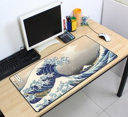 Wholesale Custom Large mouse pad x400mm speed Keyboards Mat Rubber Gaming mousepad Desk Mat for game player Desktop PC Computer Laptop