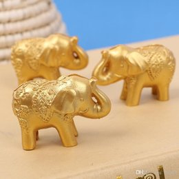 $enCountryForm.capitalKeyWord UK - Party Arrangement Gift Card Clip Cute Gold Small Elephant Seat Clips European Style Wedding Favors For Guest 2 3lt Ww