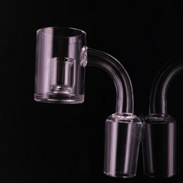 $enCountryForm.capitalKeyWord NZ - New 3mm Thick Bottom Quartz Banger Nail Core reactor Quartz Honey Bucket 10mm 14mm 18mm Quartz Club Nails for oil rig pipe
