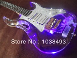 Led Lighting eLectric guitar online shopping - Manufacturers custom made processing instruments of high quality LED lights electric guitar EMS mail bag