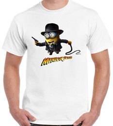 minion shirts NZ - Details zu Minion Jones - Mens Funny T-Shirt Funny free shipping Unisex Casual gift
