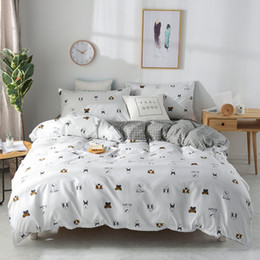 $enCountryForm.capitalKeyWord Australia - Cartoon cotton 3 4pcs bedding sets bed set bedclothes for bed linen duvet cover bed sheet pillowcase free shipping # J
