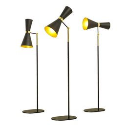 standing lamps for bedroom 2020 - Post modern Floor Lamp creative floor light Metal Standing Light for Living Room Bedroom simple adjustable arm E27 LED B