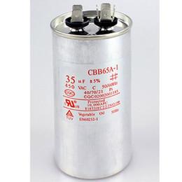 450VAC CBB65 capacitor 20/25/30/35/40/45/50/55/60 / 100uF para condicionador de ar condicionado em Promoção