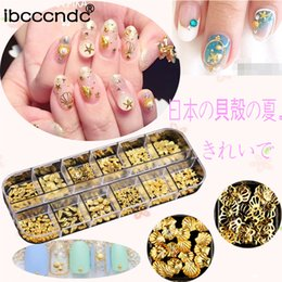 $enCountryForm.capitalKeyWord NZ - 1 Box Fashion Gloden Nail Art Decorations Multi Pattern Fruit Ocean Style 3D Nai Decor Nail Accesories Manicure Tool
