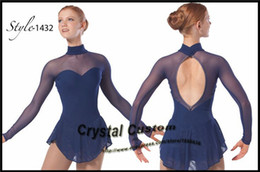Girls Ice Dress NZ - Figure Skating Dresses For Girls Fashion New Brand Ice Figure Skating Dresses Competition DR3463