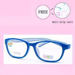 cb358a04bf Cute Acetato Rubber Kids Glasses Frame Flexible Spectacles Children Frames  Eyewear TR90 Optical Glass Oculos De Grau 1272-25