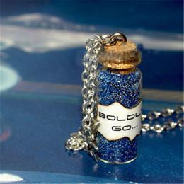 Star trek Spock online shopping - 12pcs Star BOLDLY GO Necklace Star Charms Dust Magic Starship Captain Kirk Spock Captain Picard Star Trek Jewelry