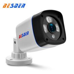 Ip camera 12v online shopping - BESDER HD Ip Camera P P P DC V POE V Outdoor Video Surveillance CCTV Secutiry Camera Build In Poe Module Onvif