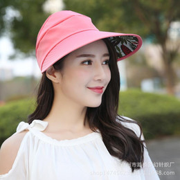 Sailor Hat Boys Canada - The new leisure is prevented bask in female baseball cap Outer sunshade hat in the summer Fashion charm