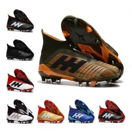 Predator 18+x FG Soccer Shoes Football Shoes Predator 18+ Outdoor Soccer Boots Men Football Cleats Soccer Sports Shoes 1000 Models 40-45 sale footaction cBpPxnKd9