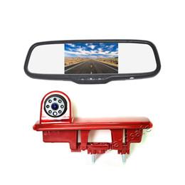 Car Reverse Parking Mirror Camera UK - Vardsafe VS866M | Car Rear View Reverse Backup Camera & Mirror Monitor For Renault Trafic  Fiat Talento Vauxhall   Opel Vivaro Nissan NV300