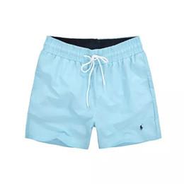 2018 Atacado-Verão polo Homens Calças Curtas Roupas de Marca Swimwear Nylon Homens Marca Praia Shorts Pequeno cavalo Swim Wear Board Shorts 2018