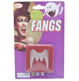 Vampire Props NZ - Adult Children Halloween Party Cosplay Props Vampire Fangs April fool's Day Joke Fangs Tool Kids Party Funny Toy Decoration